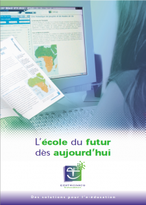 Plaquette Editronics Education 2002