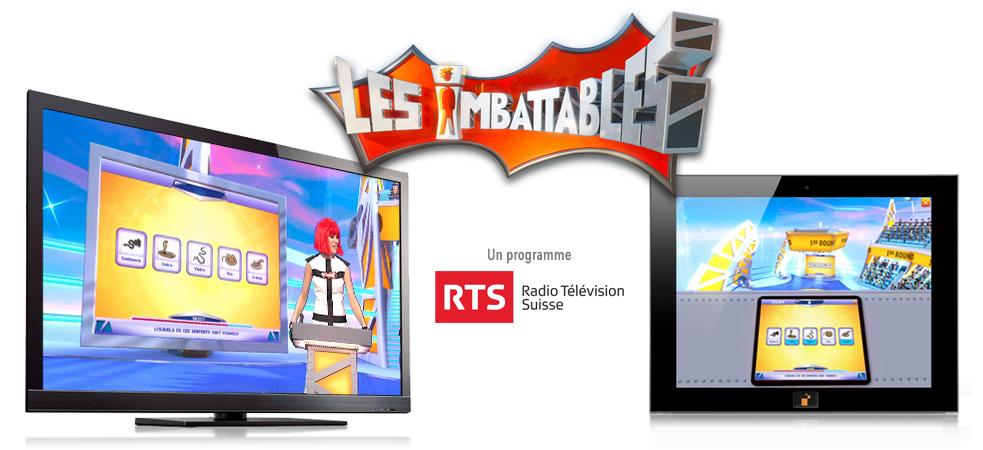 Les imbattables, jeu TV interactif et immersif de la RTS