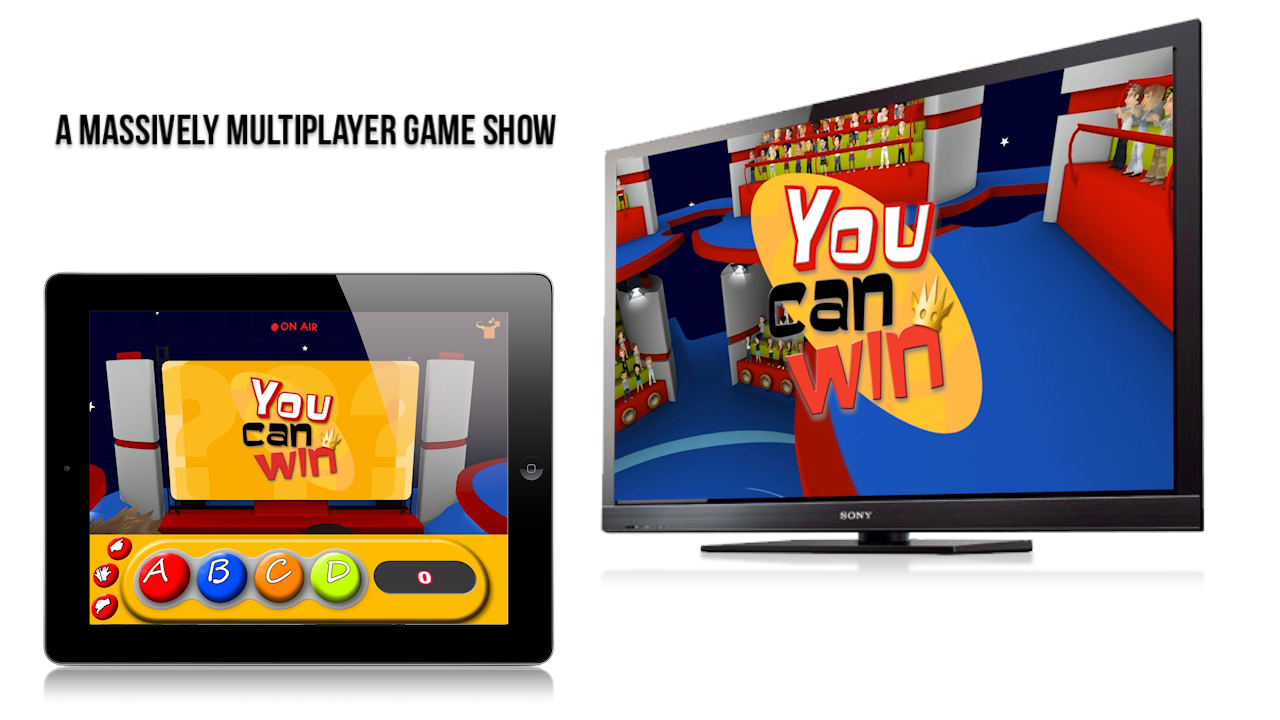 un  jeu TV multi-écrans