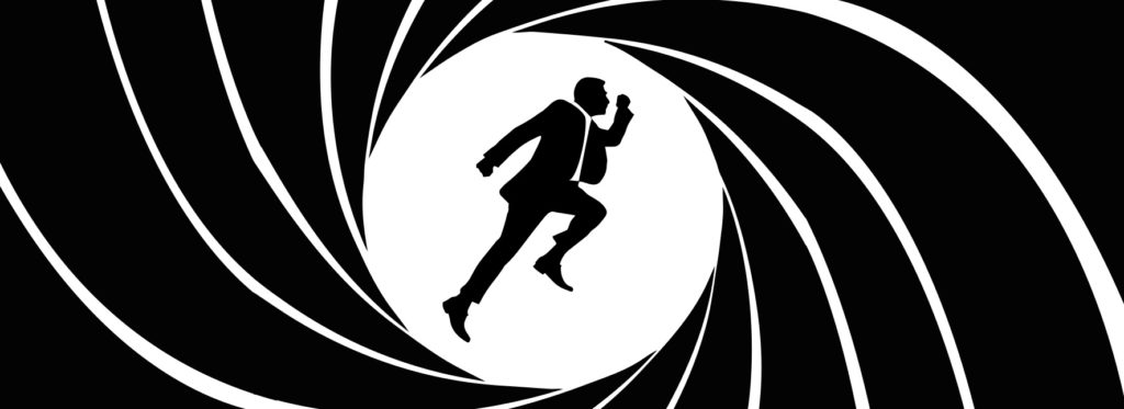 Illustration rappelant l'ouverture des films de James Bond 007 pour illustrer l'article de Laurent Fonnet « James Bond et le Dirigeant épisode 2""